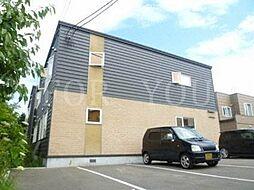 北海道札幌市南区澄川五条6丁目の賃貸アパートの外観