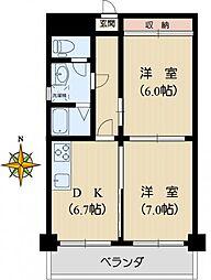 日本歯科商連ビル[4階]の間取り