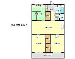 兵庫県神戸市垂水区神陵台3丁目の賃貸マンションの間取り