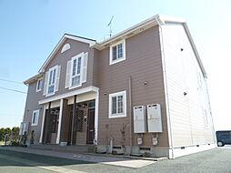 静岡県磐田市東平松の賃貸アパートの外観