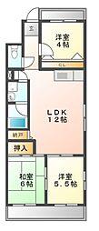 第2奥村マンション[4階]の間取り