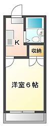コーポ新栄[2階]の間取り