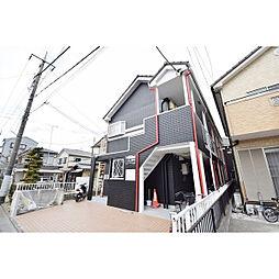 埼玉県川越市岸町2丁目の賃貸アパートの外観