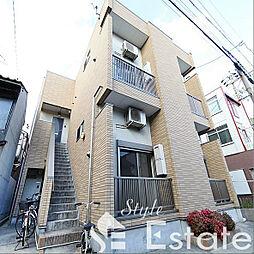 愛知県名古屋市港区築三町2丁目の賃貸アパートの外観
