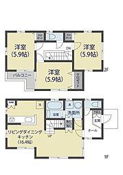 [一戸建] 埼玉県川口市芝下3丁目 の賃貸【/】の間取り