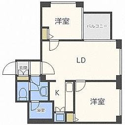 GT Tower南郷台[8階]の間取り