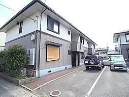 兵庫県姫路市飾磨区矢倉町1丁目の賃貸アパートの外観