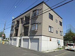 北海道札幌市北区太平六条3丁目の賃貸アパートの外観