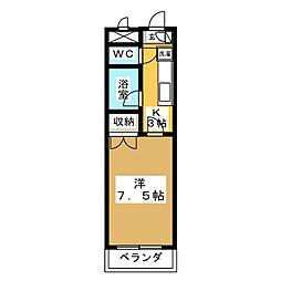 文学館[1階]の間取り