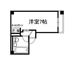 寺川ビル[203号室]の間取り