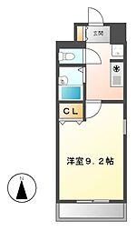 KEY FLAT千種[2階]の間取り