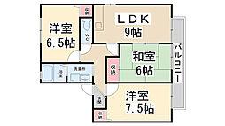 シェーンハイム A棟[2階]の間取り