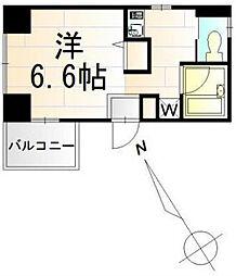 ナカタレジデンスII[201号室]の間取り