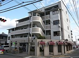 京都府京都市西京区桂河田町の賃貸マンションの外観