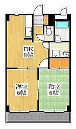 サニーウィステリア[5階]の間取り