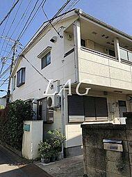 東京都北区志茂3丁目の賃貸アパートの外観