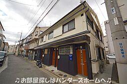 大阪府枚方市東田宮1丁目の賃貸アパートの外観