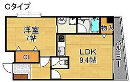 FORESTAIII[2階]の間取り