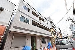 東京都江東区牡丹3丁目の賃貸マンションの外観