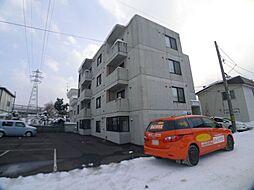 北海道札幌市西区発寒十四条2丁目の賃貸マンションの外観