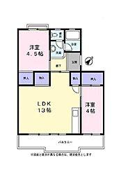 シャラ原宿I[3階]の間取り