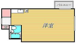 ライオンズマンション目黒第3[2階]の間取り