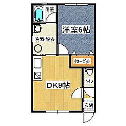 ケンネル[2階]の間取り