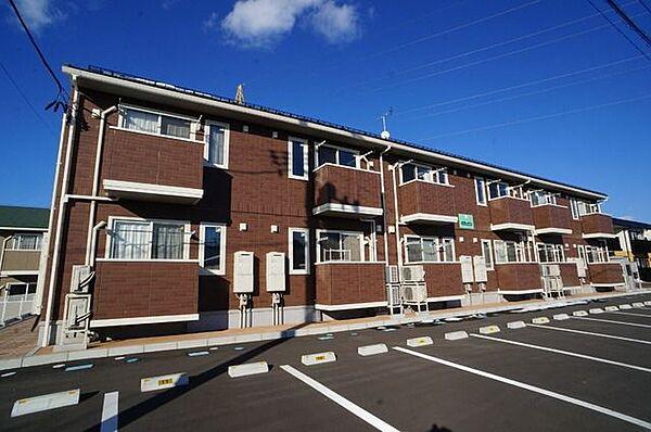 福島県郡山市日和田町字千峯坦の賃貸アパート