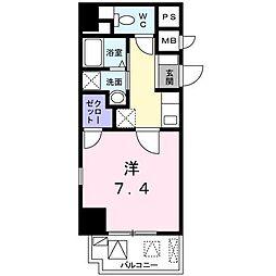 東京都板橋区熊野町の賃貸マンションの間取り
