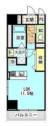 Mondo Fuji 3[5階]の間取り
