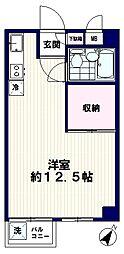 サンバレー渋谷[2階]の間取り