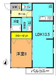 湘南330F[2F号室]の間取り
