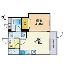 下山門駅 5.2万円