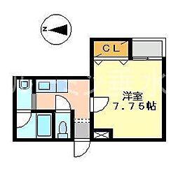 セントラルマンション[2階]の間取り