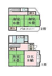 [一戸建] 埼玉県草加市青柳5丁目 の賃貸【/】の間取り