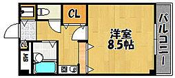 ロイヤルステージ[407号室]の間取り