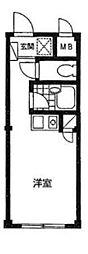 埼玉県さいたま市大宮区宮町5丁目の賃貸マンションの間取り