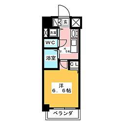 プレサンスSAKAE白川公園[9階]の間取り