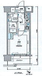 レグラス新横浜駅前[7階]の間取り