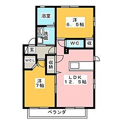Ma Maison I[2階]の間取り