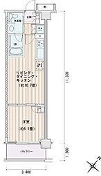 豊洲レジデンス[0224号室]の間取り