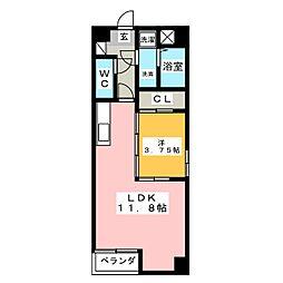 S-FORT鈴鹿(エスフォート鈴鹿)[11階]の間取り