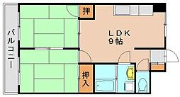 松正ビル[4階]の間取り