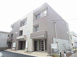 埼玉県春日部市六軒町の賃貸アパートの外観