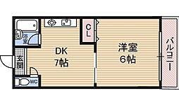 プレ・カトウ[2階]の間取り