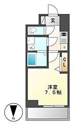 プレサンス桜通ザ・タイムズ[11階]の間取り