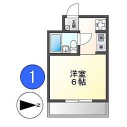 エッフェル鶴舞66[3階]の間取り