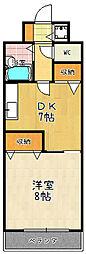 ファミールトヤマ[3階]の間取り