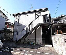 京都府京都市南区上鳥羽高畠町の賃貸アパートの外観