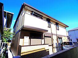 東京都東村山市萩山町3丁目の賃貸アパートの外観